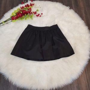 Banana Republic Skirt Black Midi Mini NWT NEW 12